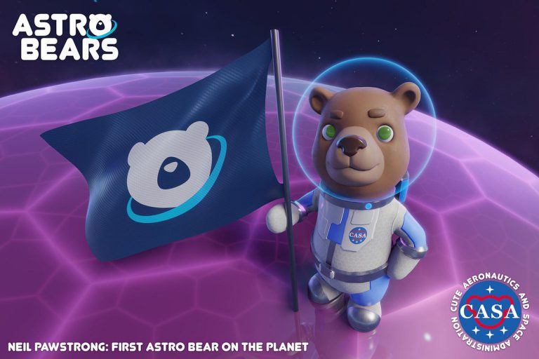 Astro Bears – трутся об ось медведи, вертится земля.