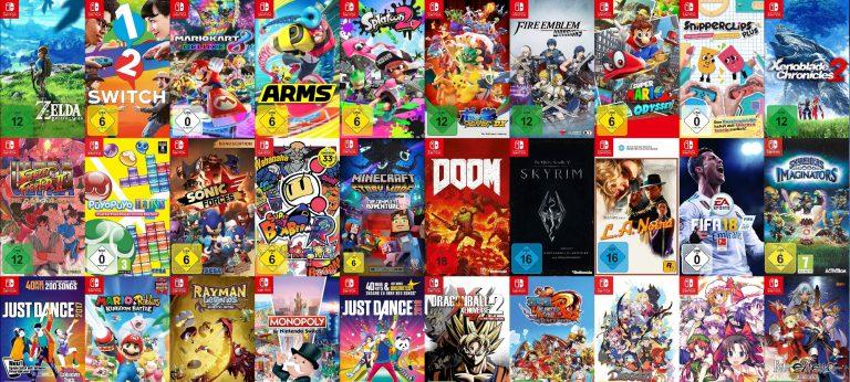 Во что поиграть на Nintendo Switch?