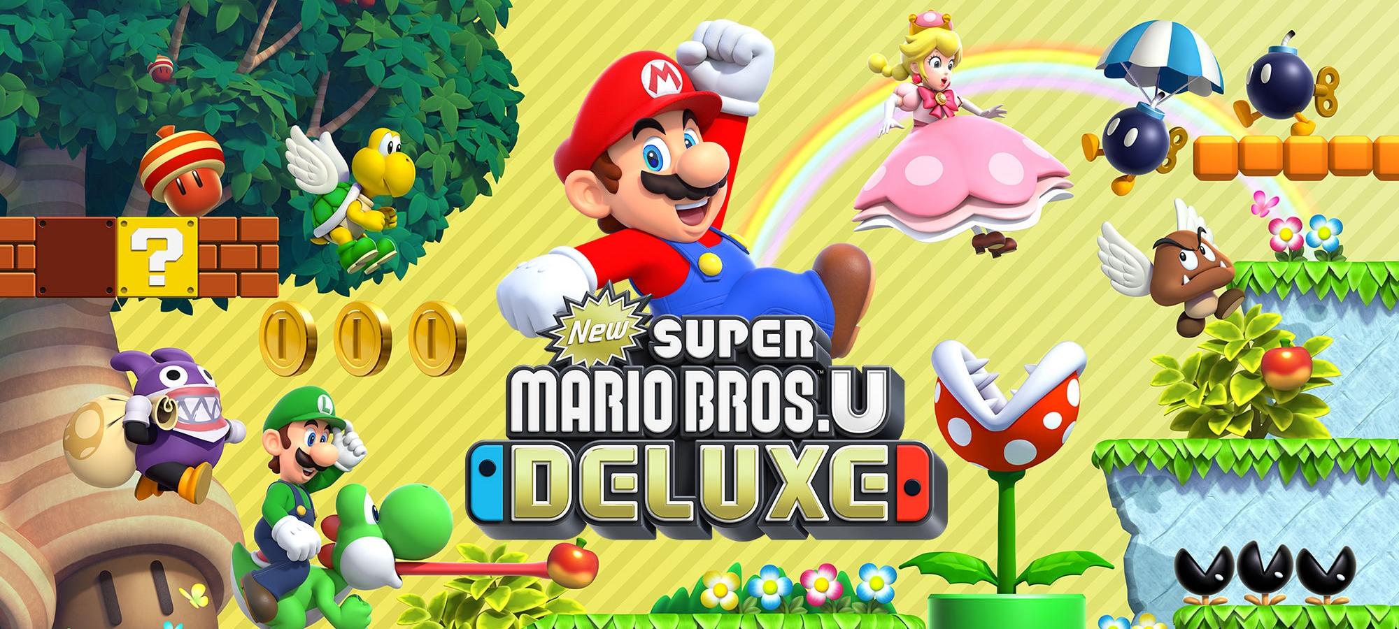 Обзор New Super Mario Bros. U Deluxe.