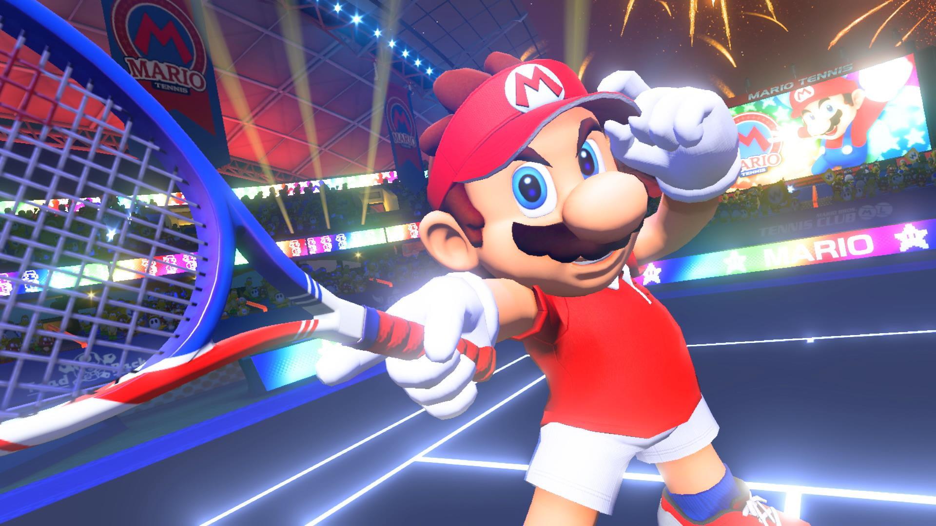 В eShop появилась особая демоверсия Mario Tennis Aces