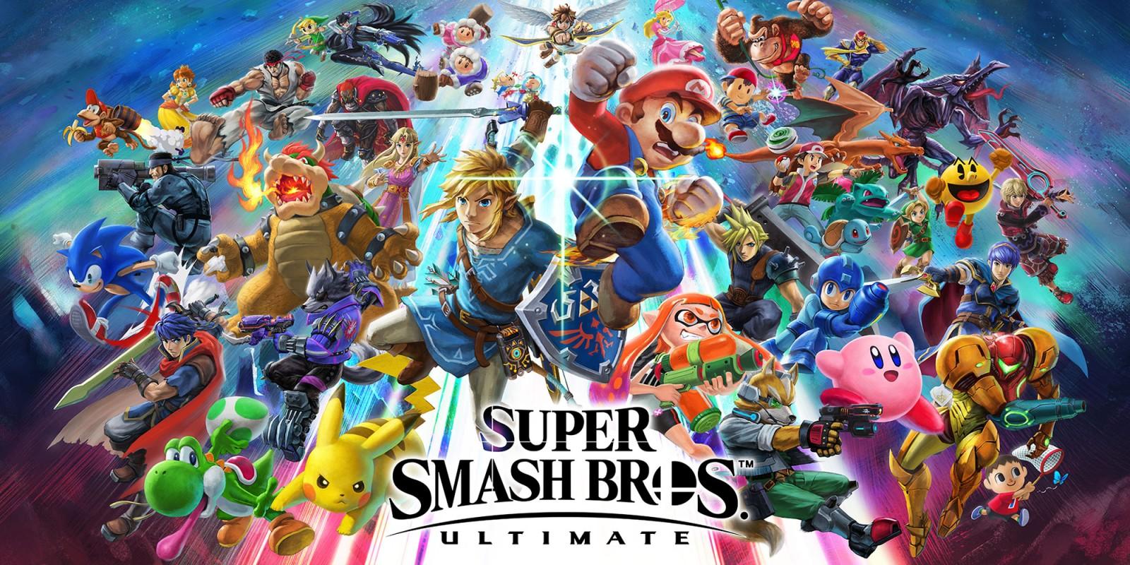 Для Super Smash Bros. Ultimate выйдет обновление 2.0.2
