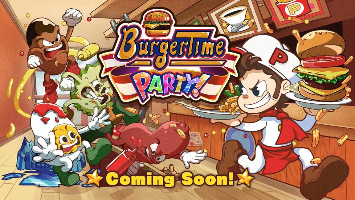 BurgerTime Party! выйдет на Switch