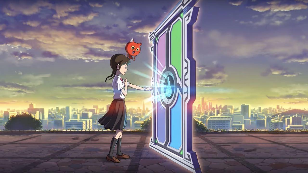 Вступительный ролик Yo-Kai Watch 4.