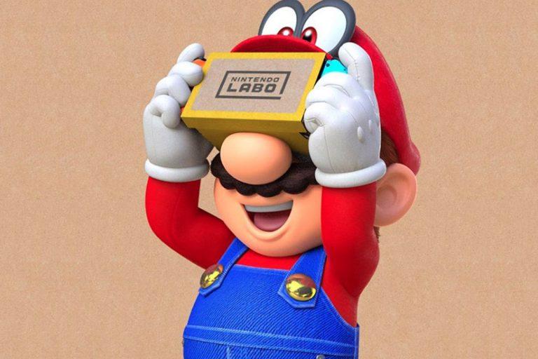 Для Super Mario Odyssey и The Legend of Zelda BoTW вышло VR-обновление
