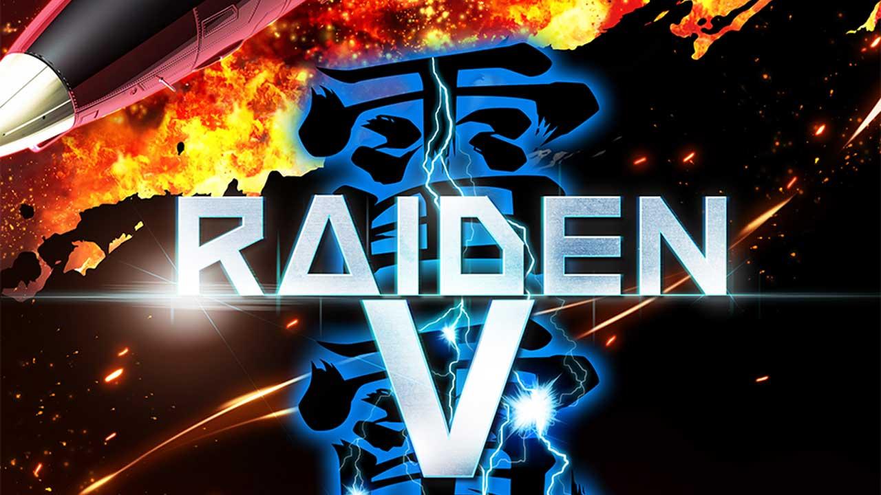 Raiden V: Director's Cut выйдет на Switch