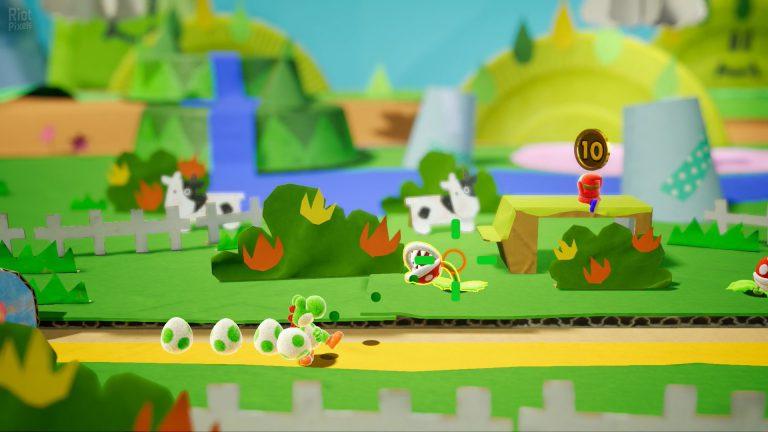 Для Yoshi's Crafted World вышло обновление 1.0.1