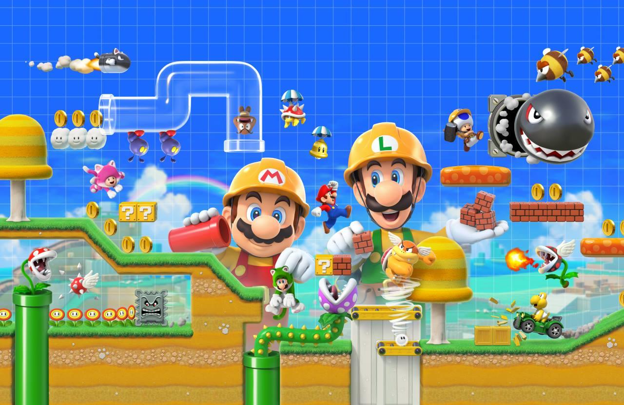 Super Mario Maker 2 выйдет 28 июня