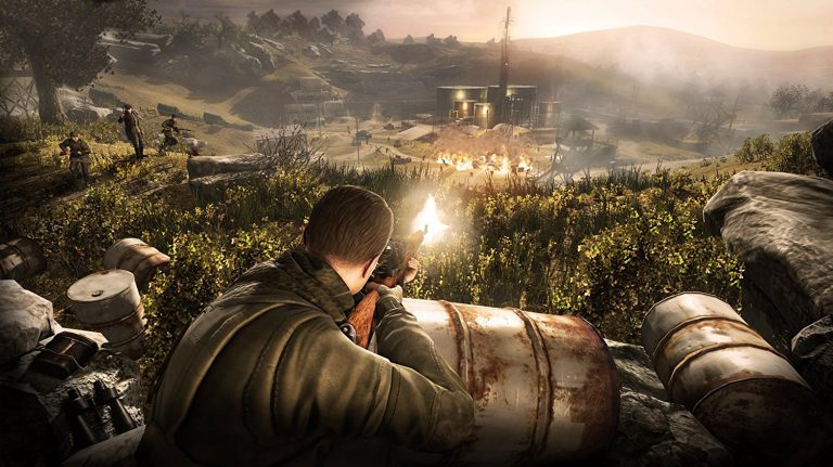 Сравнение Sniper Elite V2 на Nintendo Switch и Xbox 360