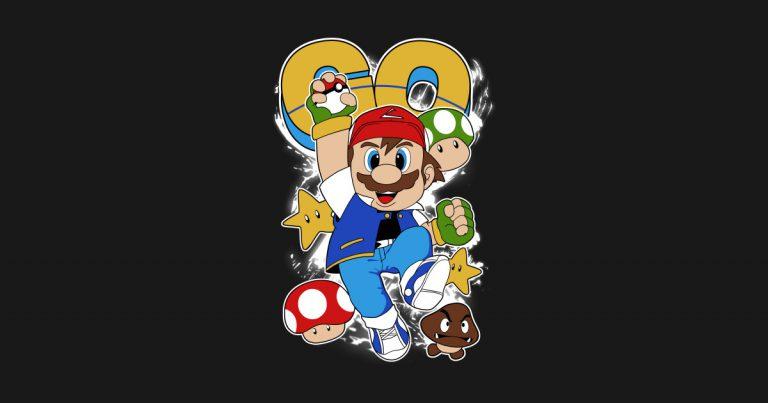 Кроссовер Pokemon и Super Mario