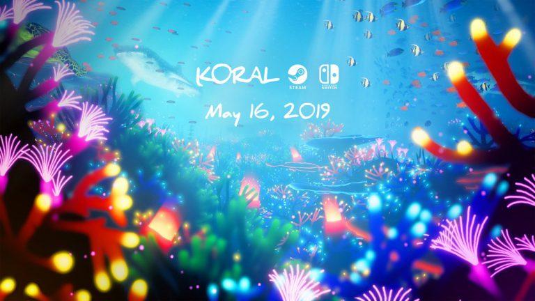 Koral – игра созданная в море