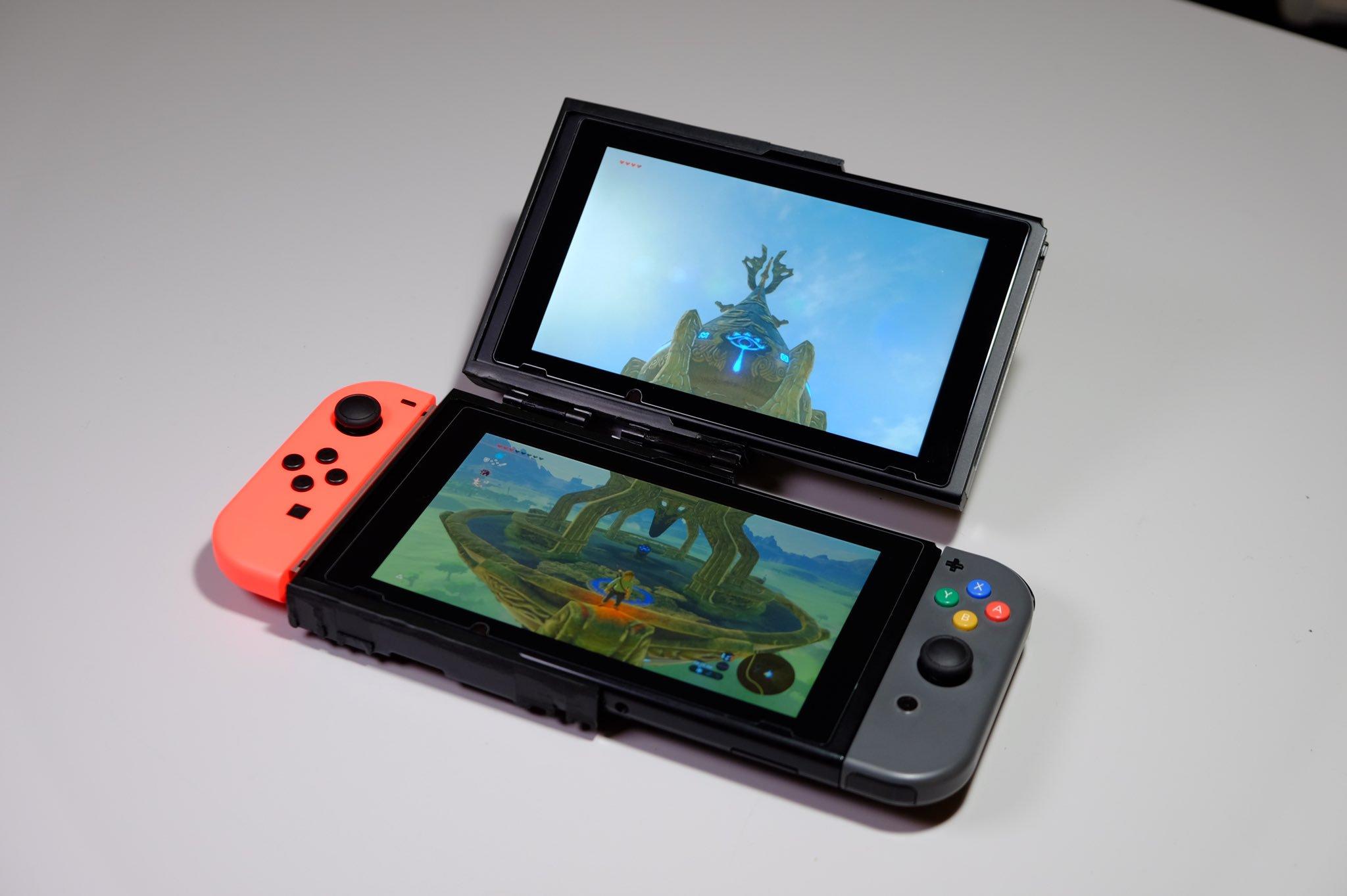 Умелец создал раскладную Nintendo Switch!