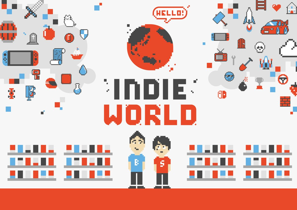 Nintendo анонсировала Indie World presentation для Японии