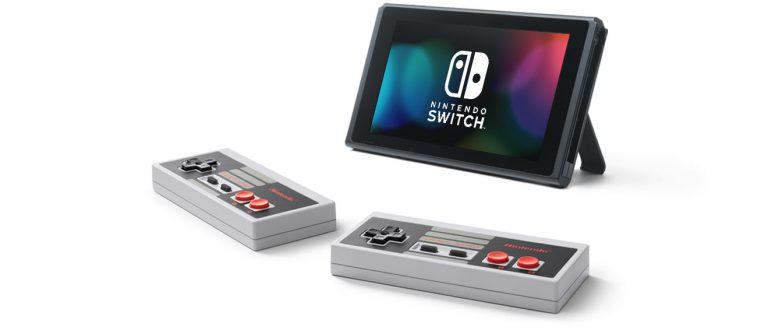 Предложение для членов Nintendo Switch Online: контроллеры Nintendo Entertainment System