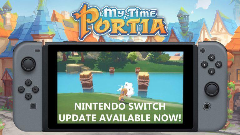 Для Switch-версии My Time at Portia вышло обновление