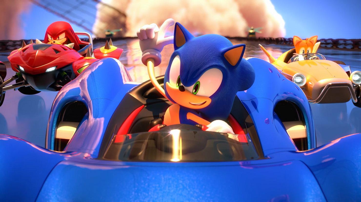 В Switch-версии Team Sonic Racing нет вступительного ролика