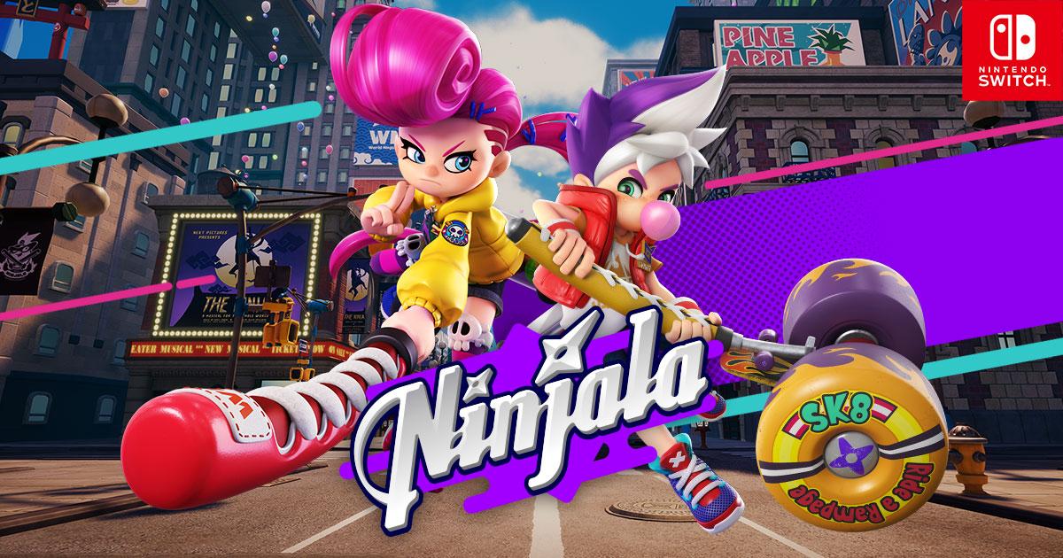 Где же Ninjala?