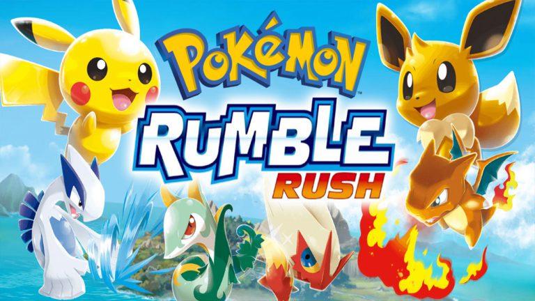 Pokemon Rumble Rush вышла во всём Мире