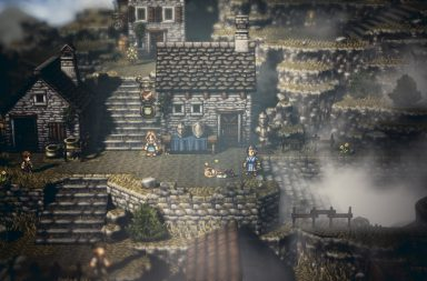 Square Enix опубликовала новый арт Octopath Traveler 16