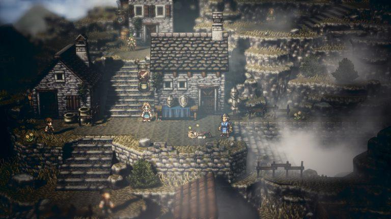 Square Enix опубликовала новый арт Octopath Traveler