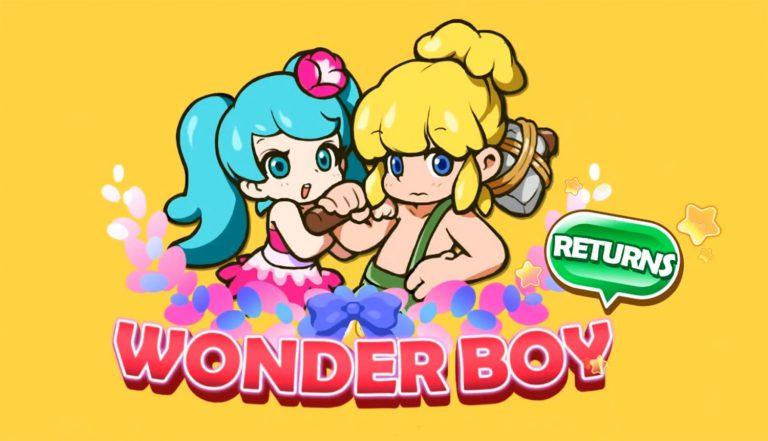 Смотрите новый трейлер Wonder Boy Returns Remix!