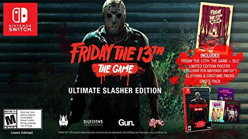 Friday the 13th: The Game Ultimate Slasher Edition выйдет на Switch 13 августа