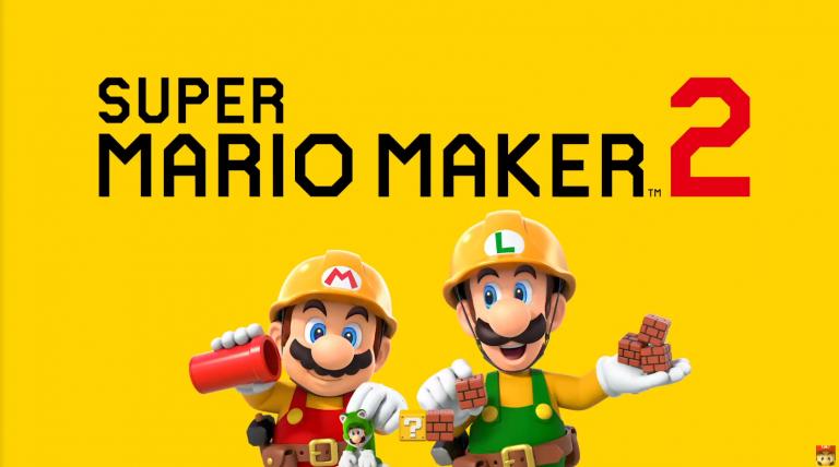 Новый трейлер Super Mario Maker 2