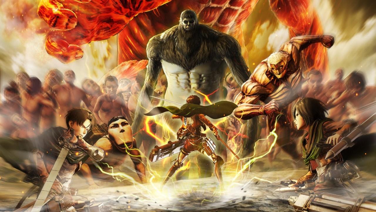 Бокс-арт Attack on Titan 2: Final Battle