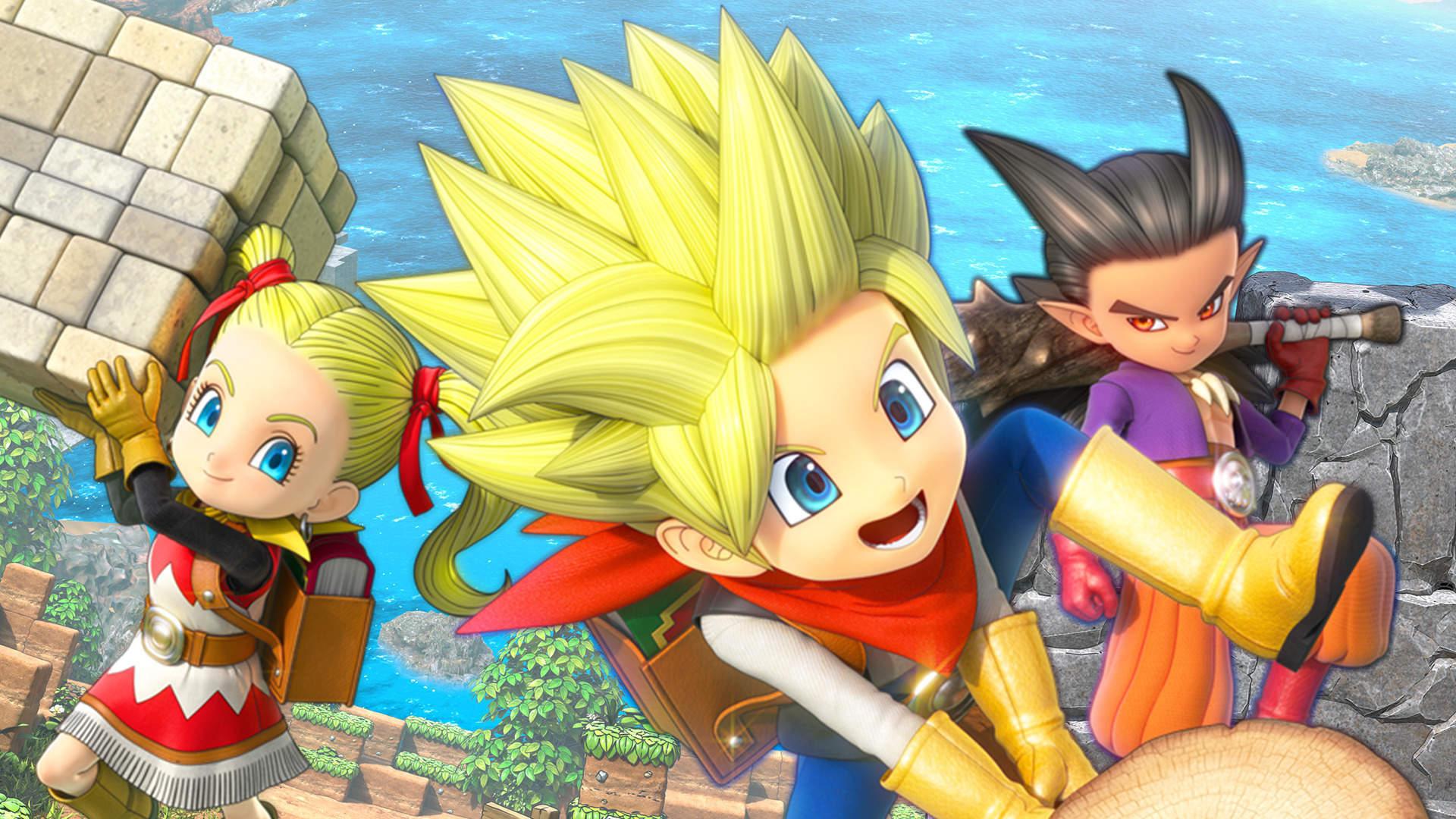 Демо версия Dragon Quest Builders 2 станет доступна 27 июня