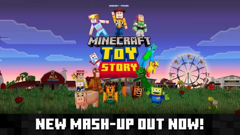 Read more about the article Трейлер Toy Story Mash-Up Pack для Minecraft