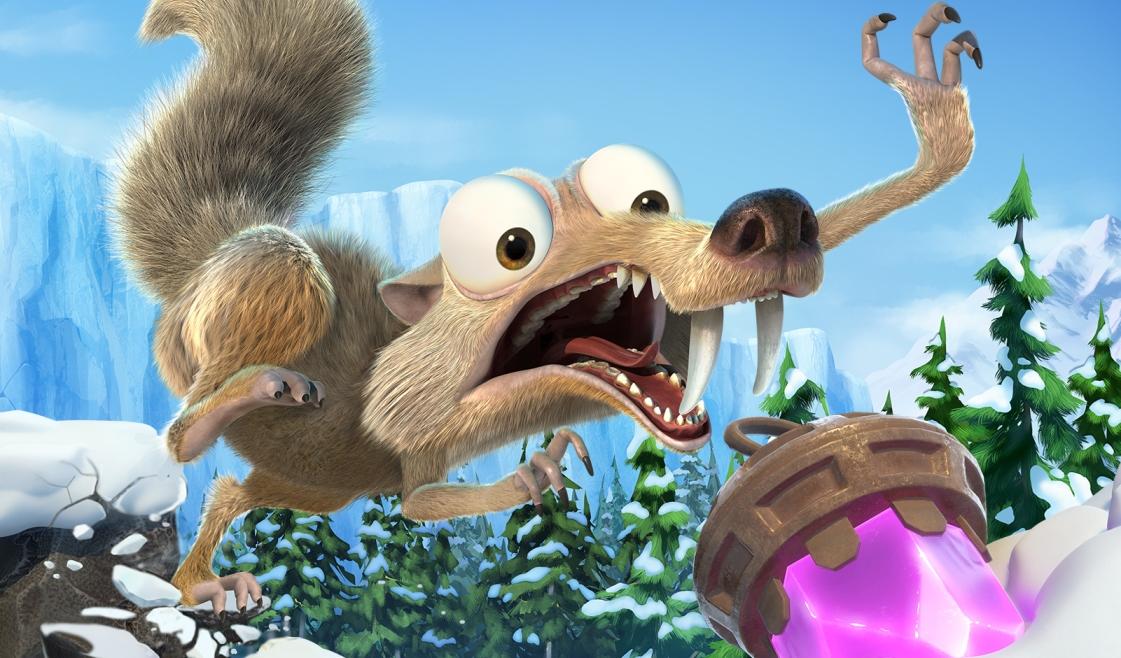 Ice Age: Scrat's Nutty Adventure выйдет на Switch