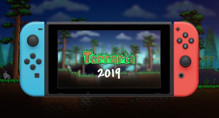Новый геймплей Terraria на Nintendo Switch