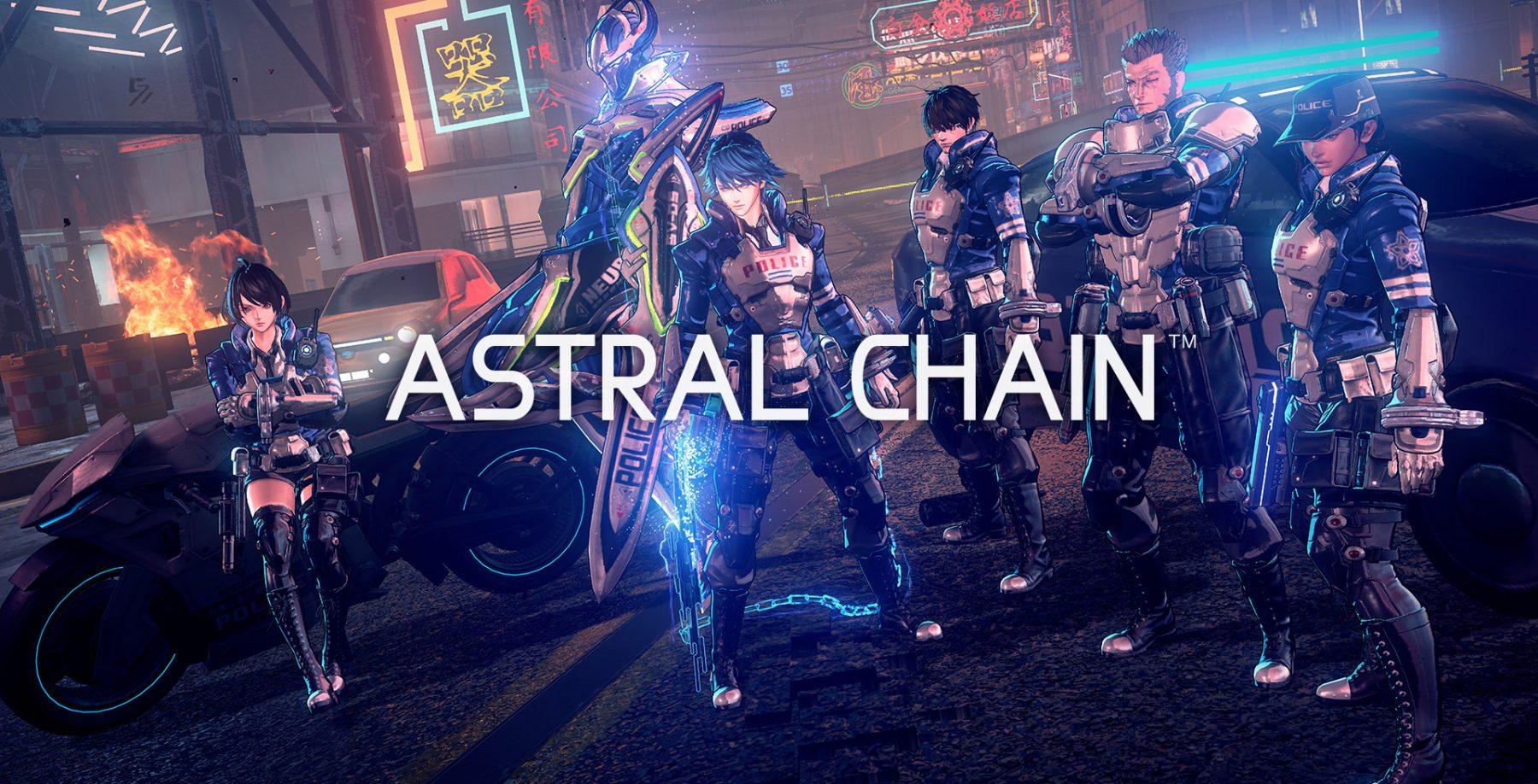 Ранние концепты Легионов из Astral Chain