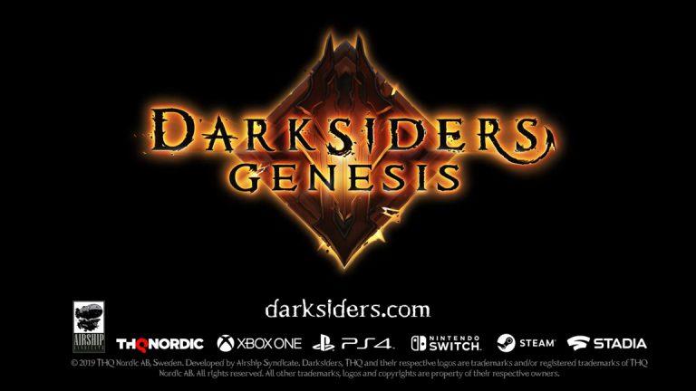 Первый тизер Darksiders Genesis