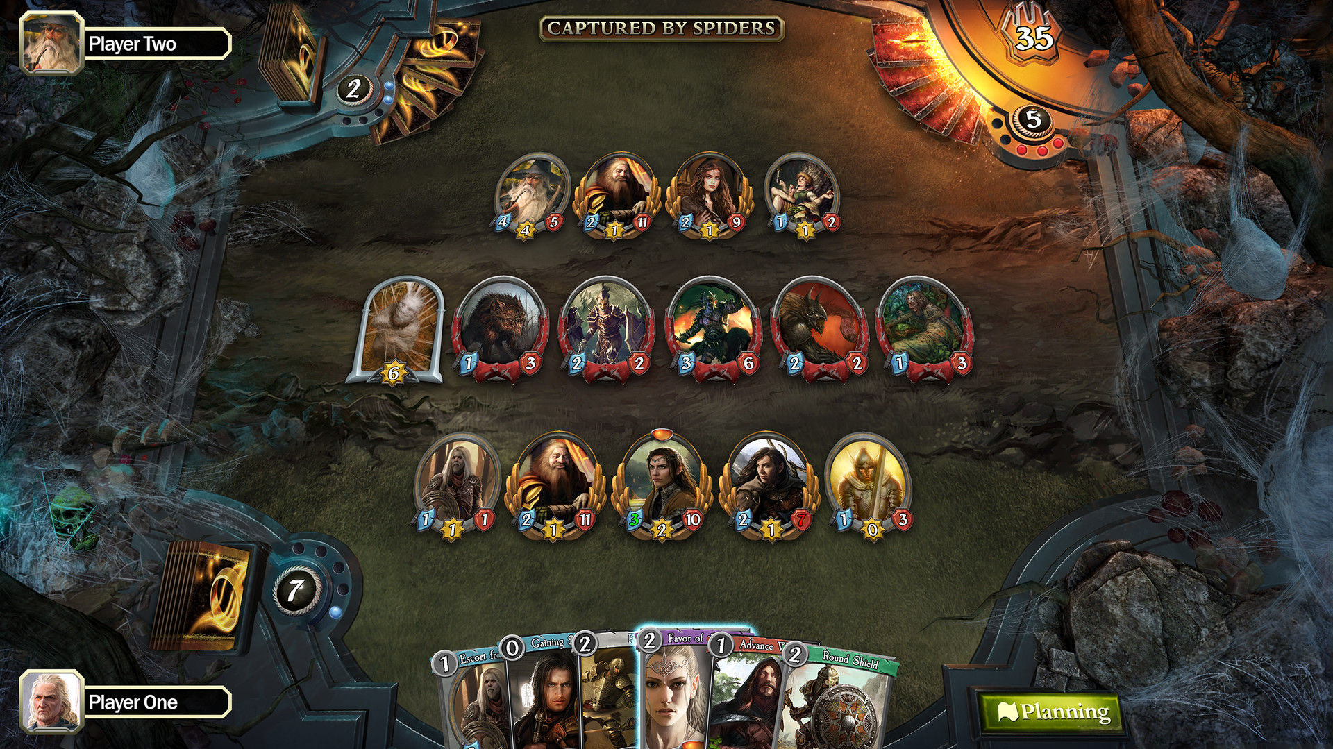 The Lord of the Rings: Adventure Card Game выйдет на Switch 8 августа