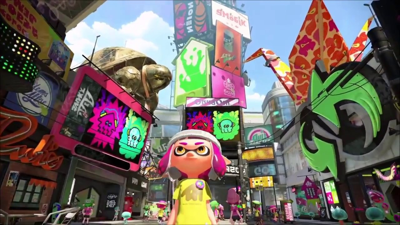 Nintendo анонсировала 3 Сплатфеста