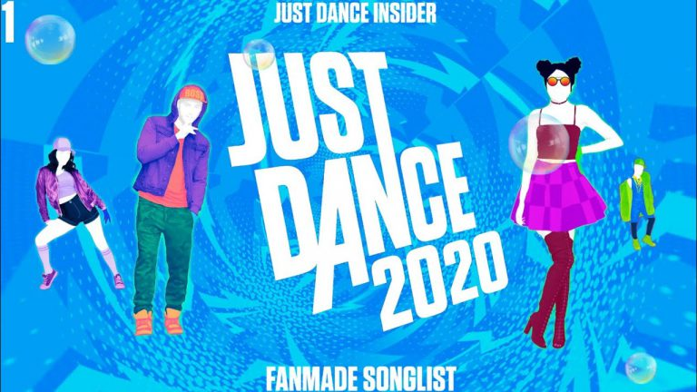 Бокс-арт Just Dance 2020