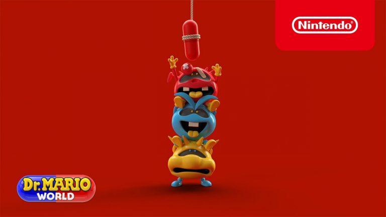 Микробы и пилюля – новый ролик Dr. Mario World!