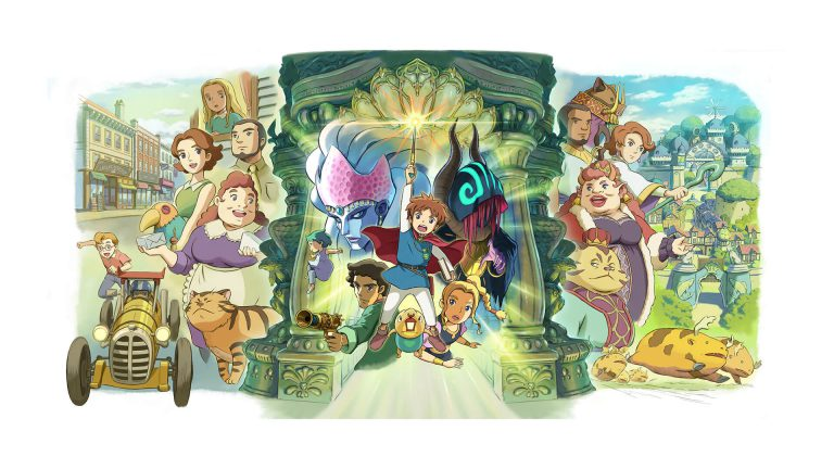 Ni no Kuni: Wrath of the White Witch выйдет на Switch