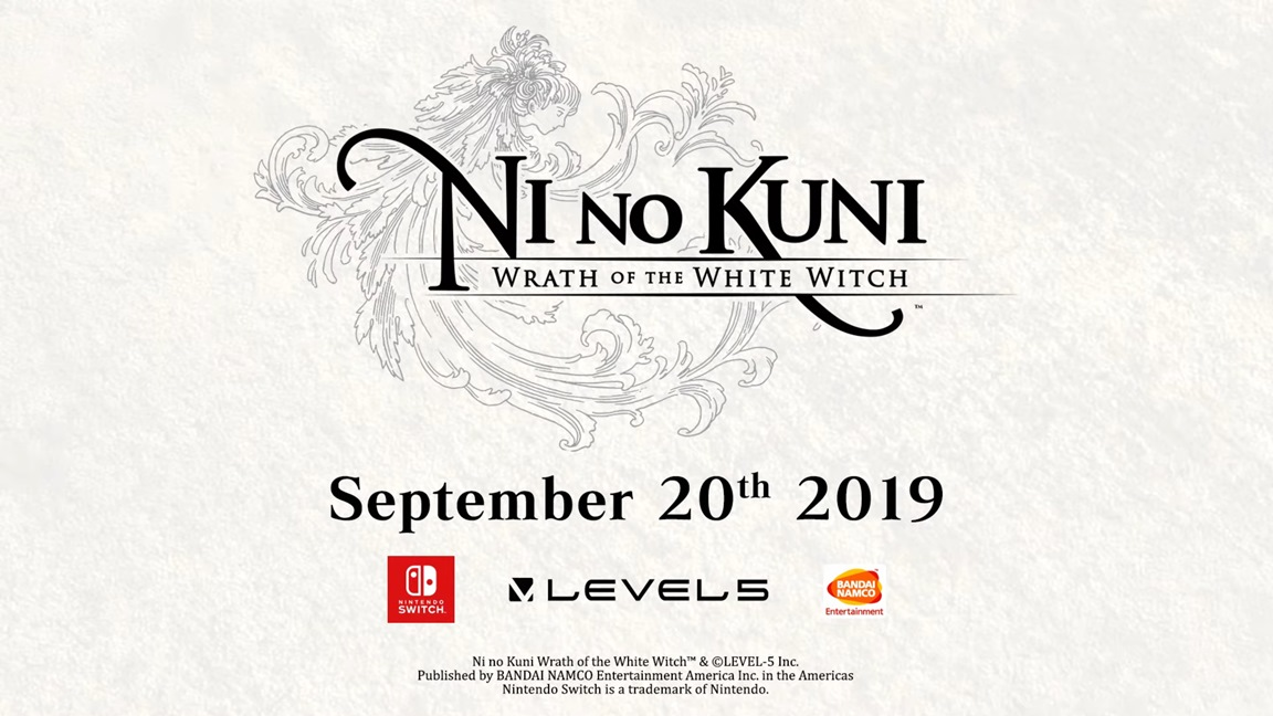 Ni no Kuni: Wrath of the White Witch выйдет на Switch 20 сентября