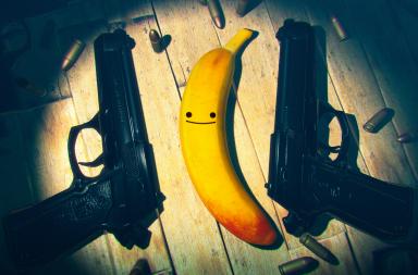 My Friend Pedro для Switch побила рекорд Devolver Digital 2