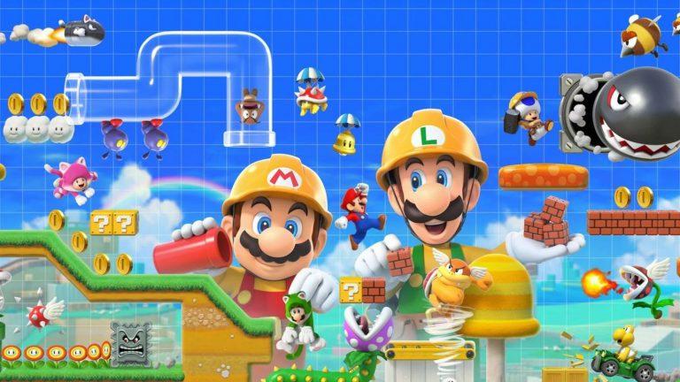 Первый взгляд на физическое издание Super Mario Maker 2