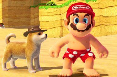 Nintendo добавила готовую модель собаки в Super Mario Odyssey 4