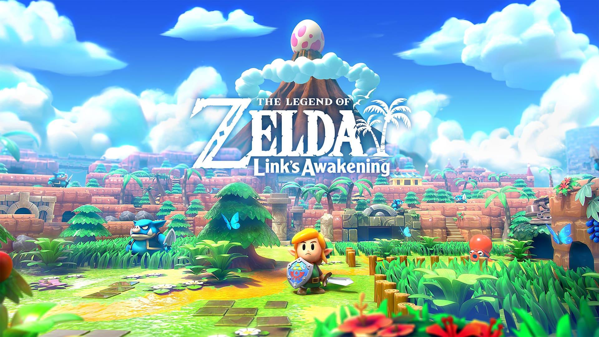 Геймплей Zelda: Link's Awakening