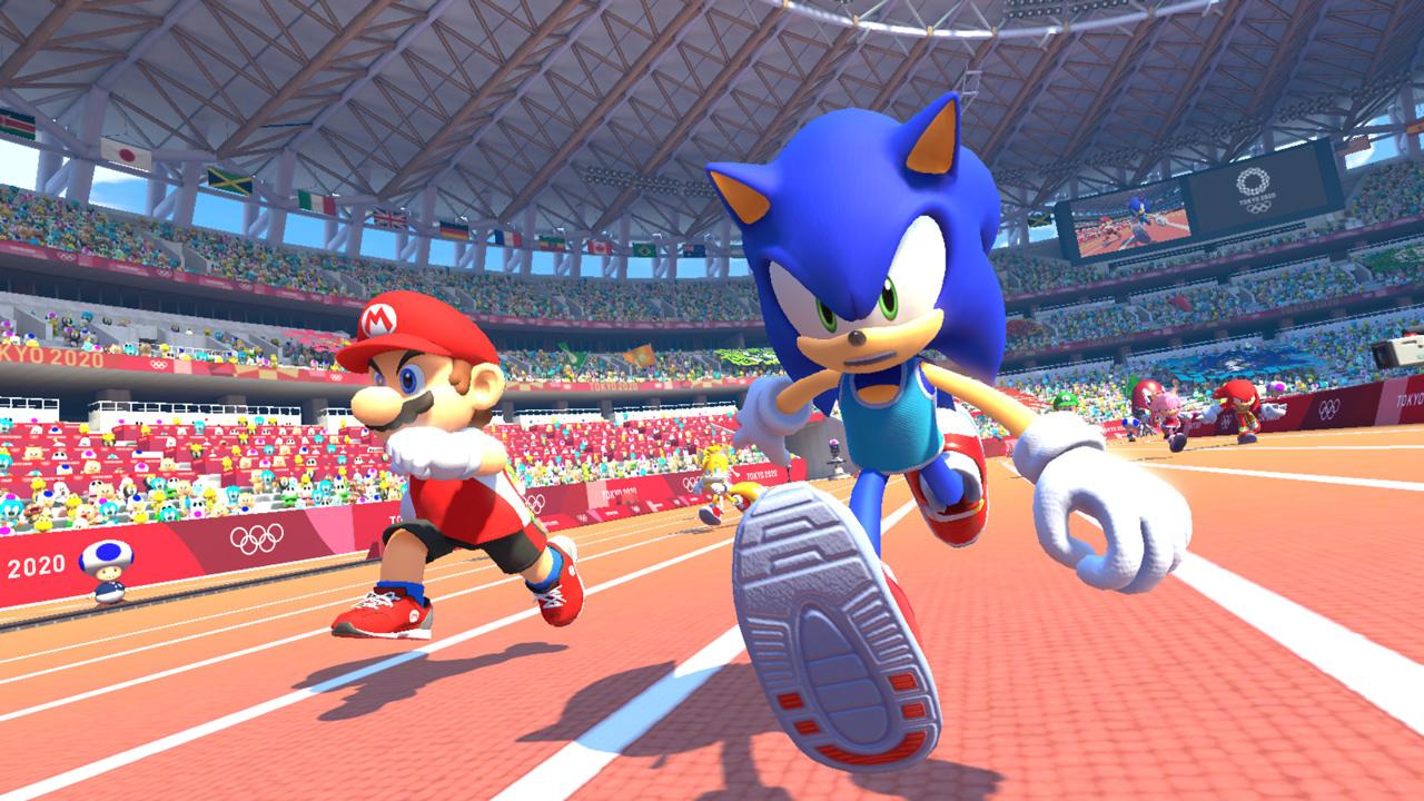 В Японии появится игровой автомат с Mario & Sonic at the Olympic Games Tokyo 2020