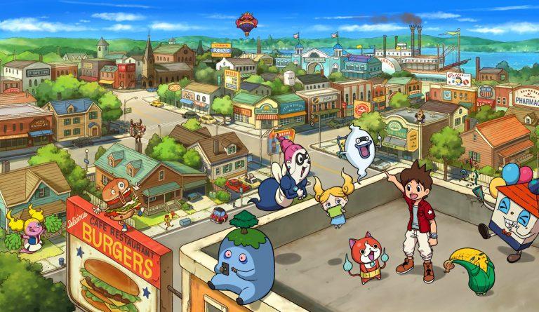 Дебютный трейлер Yo-Kai Watch 1 для Nintendo switch