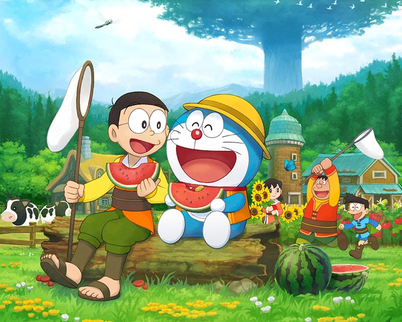 Геймплейный трейлер Doraemon Story of Seasons