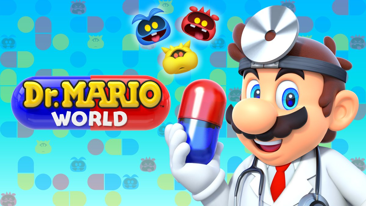 Dr. Mario World вышла для Android и iOS