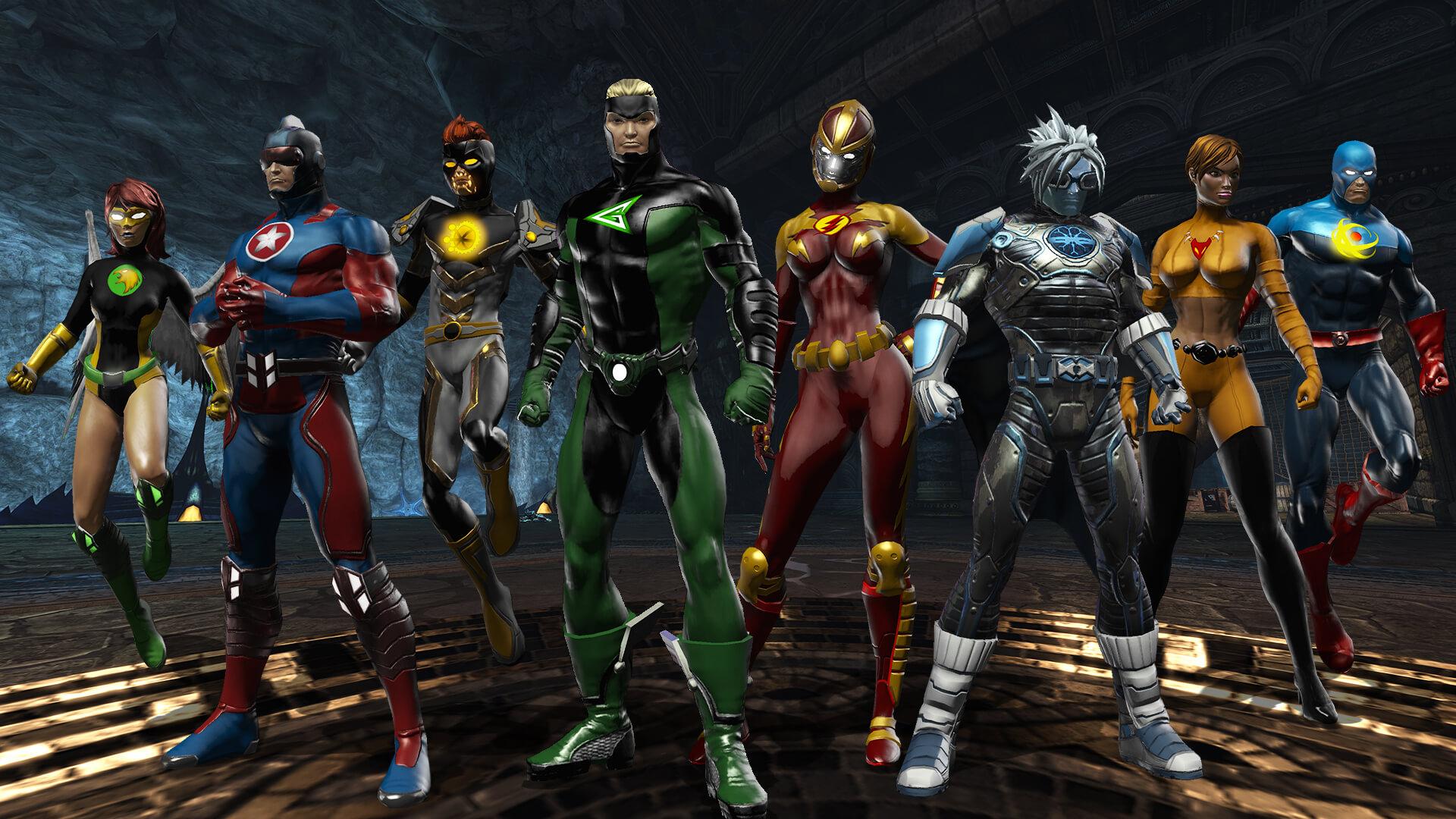 DC Universe Online выйдет на Switch 6 августа