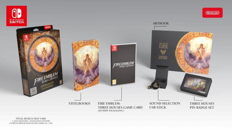 Анбоксинг Fire Emblem: Three Houses Limited Edition