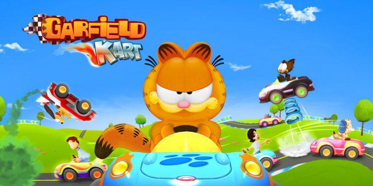 Боксарт Garfield Kart: Furious Racing